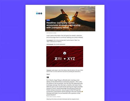 New-Partnership-Announcement-Press-Release-Template