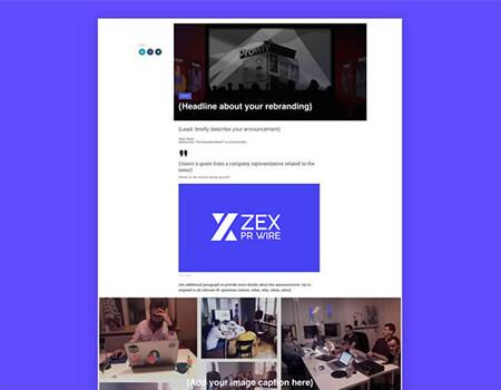 Rebranding-Press-Release-Template